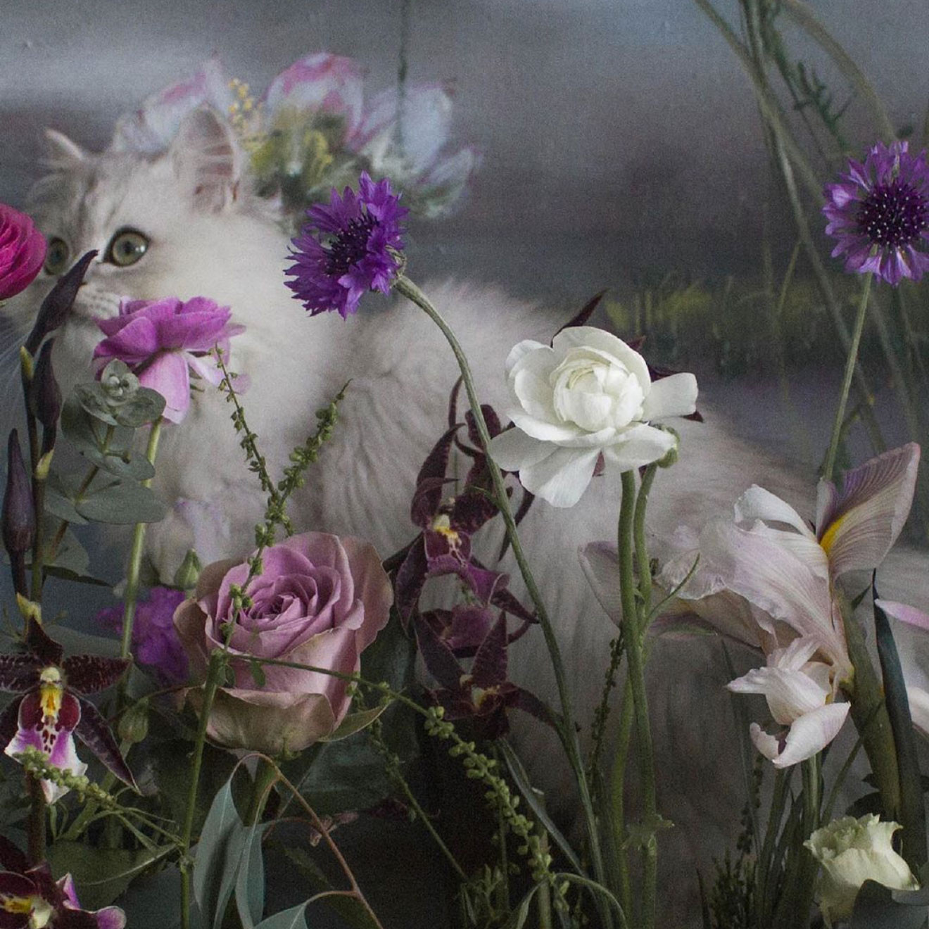 花藝設計、空間佈置與造景的創作者