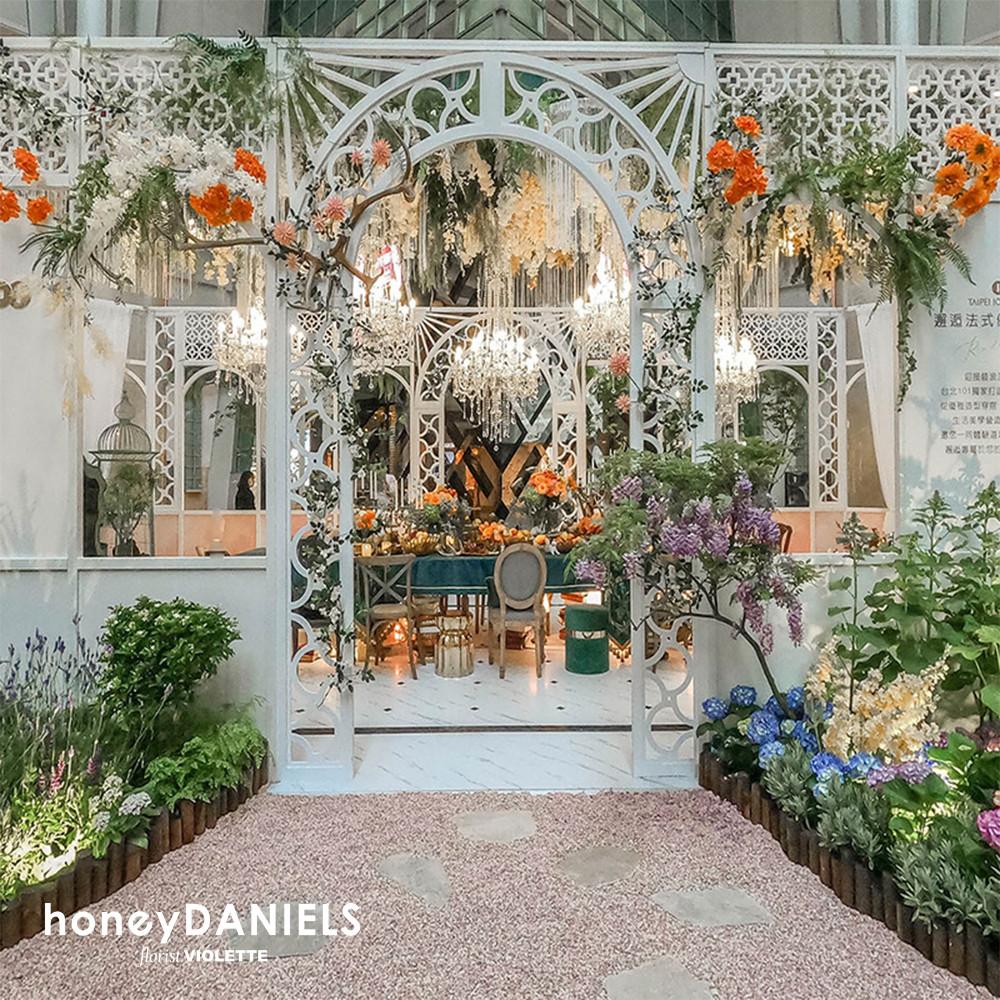 TAIPEI 101 法式浪漫花園