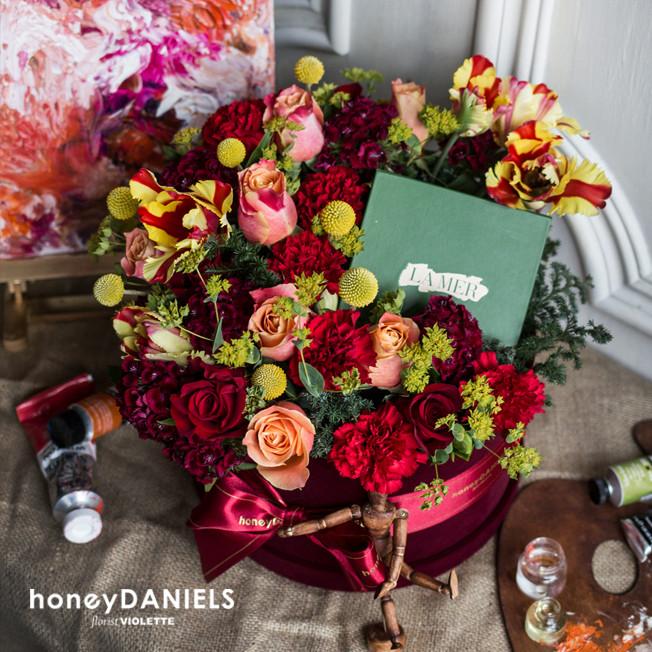 摯愛母親擁抱花藝